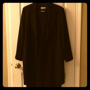 Business Dress with Matching Coat Sz 14